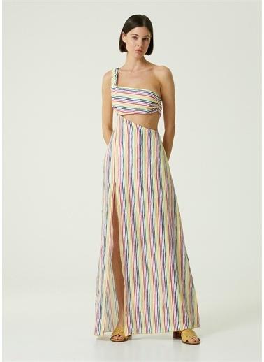 Gül Hürgel Elbise Renkli